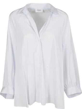 Dondup Striped Print Oversized Shirt