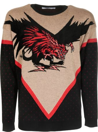 Givenchy Contrast Knit Sweater