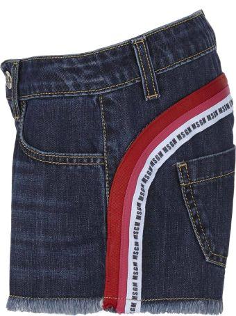 MSGM Kids Shorts
