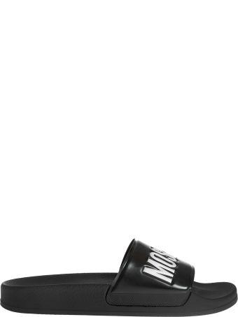 Moschino Logo Detail Sliders