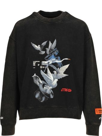 HERON PRESTON Heron Preston Magic Doves Print Sweatshirt