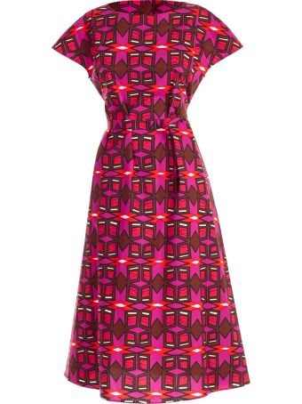 Aspesi Abstract Print Dress