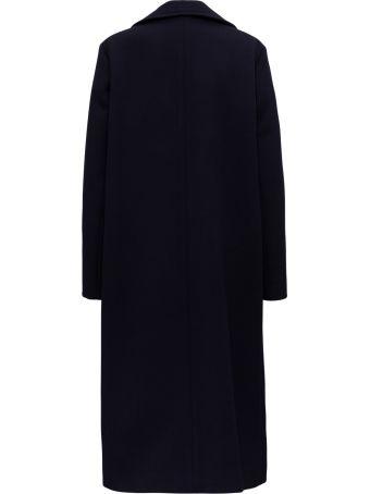 Jil Sander Wool Two-buttoned Overcoat
