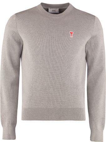 Ami Alexandre Mattiussi Crew-neck Wool Sweater