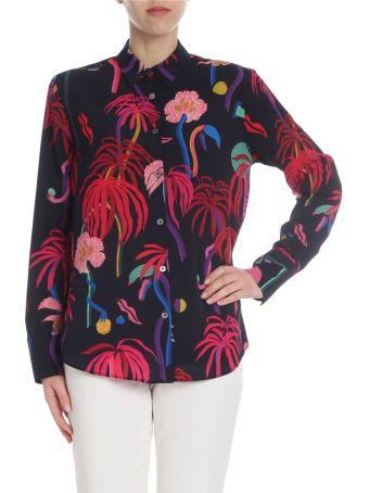 Paul Smith Tropical Print Shirt