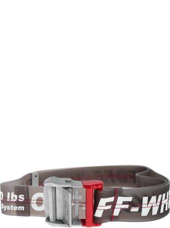 Off-White Printed Belt