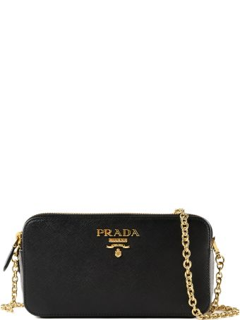 f166cdee7684 Prada Mini Saffiano Shoulder Bag