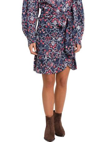 Isabel Marant Étoile Tempester Wrap Mini Skirt