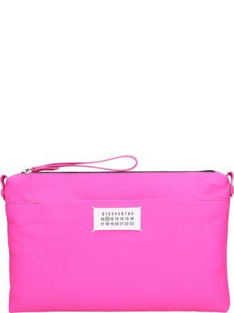 Maison Margiela Zipped Pouch Pink Leather Bag