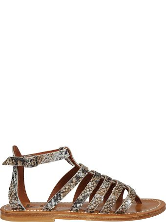 K.Jacques K. Jacques Skinned Cage Sandals