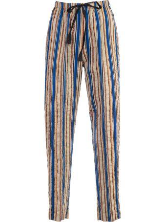 Forte_Forte Forte Forte Striped Print Trousers