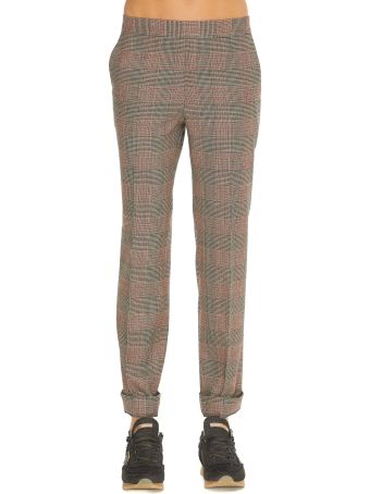 Alberto Biani Prince Of Wales Trousers