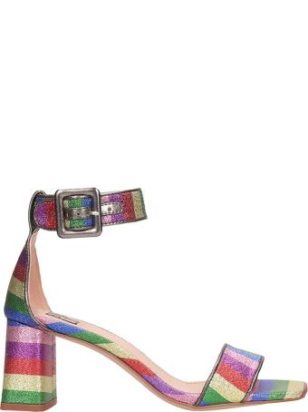 Bibi Lou Multicolor Canvas Sandals