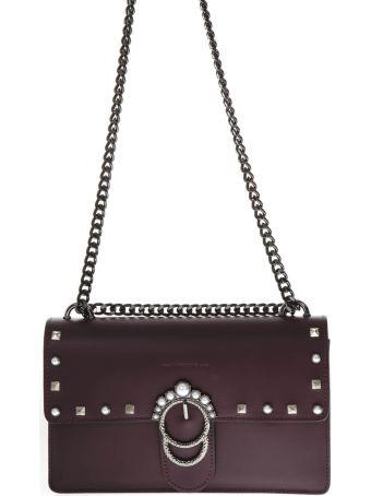 Marc Ellis Lux Wine Leather Bag