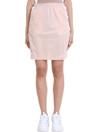 Fila Jenna Buttoned Pink Skirt
