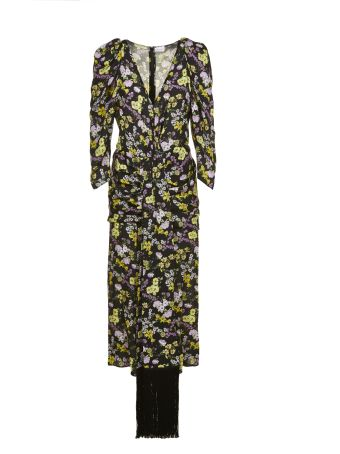 Magda Butrym Floral Print Dress