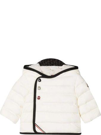 Moncler White Pollen Down Jacket
