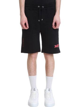 Filling Pieces Black Cotton Shorts