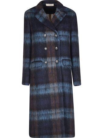 Massimo Alba Double Breasted Long Coat