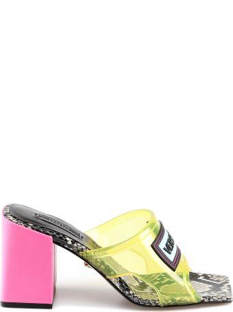 Versace Vinyl Sandals