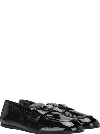 Prada Naplak Leather Loafers