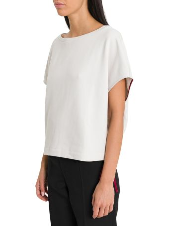 Marni Fleece Cotton Sweatshirt With Drawstring