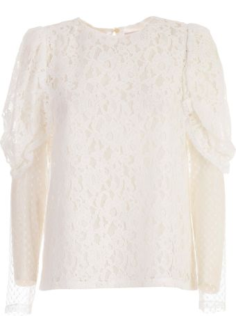 See by Chloé Lined Lace Blouse