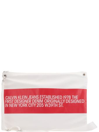 Calvin Klein Tech Fabric Shoulder Bag