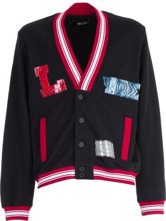 Love Moschino Striped Trim Cardigan