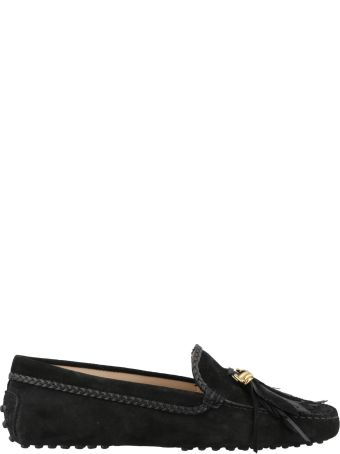 Tod's Gommini Loafer With Feathers