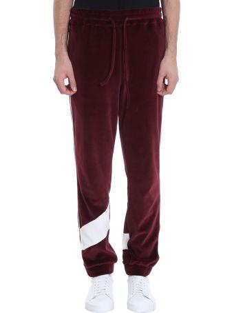 Bonsai Burgundy Velvet Trousers