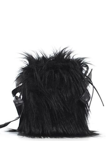 Simone Rocha Hairy Shoulder Bag
