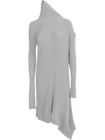 Marques'Almeida Light Weight Knit Draped Neck Dress