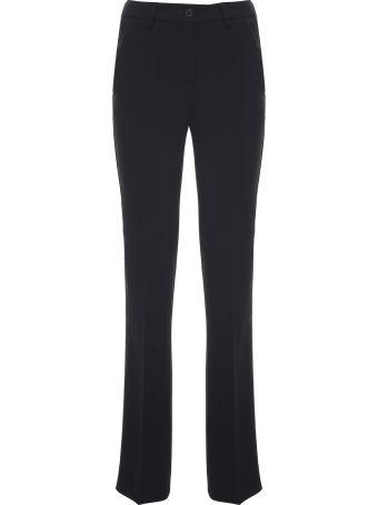 Alberto Biani Tuxedo-style Crepe Trousers