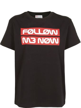 RED Valentino Follow Me Now Print T-shirt