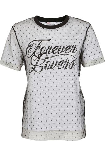 RED Valentino Forever Lovers Printed T-shirt