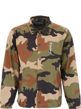 Études Camouflage Logo Jacket