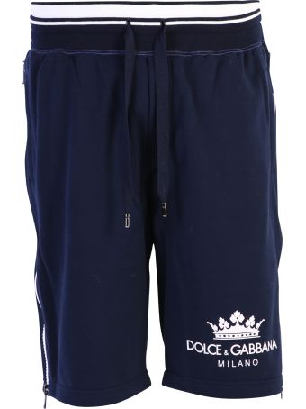 Dolce & Gabbana Blue Branded Shorts