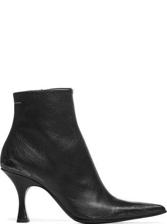 MM6 Maison Margiela Pointed Ankle Boots