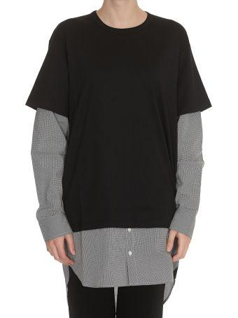 T by Alexander Wang Cotton Jersey Shirt