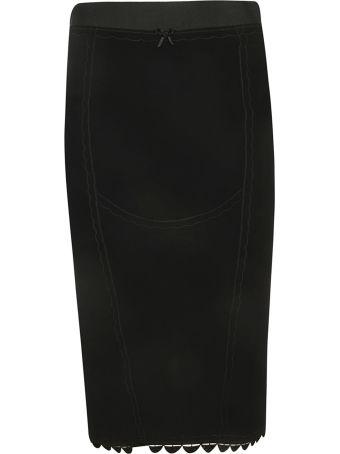Marco de Vincenzo Scalloped Skirt