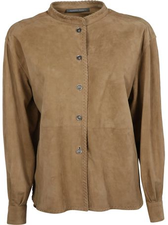 Alberta Ferretti Button Up Jacket