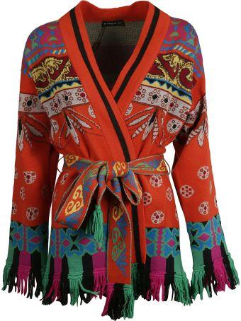 Etro Belted Cardi-coat