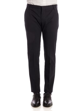 Entre Amis Virgin Wool Blend Trousers