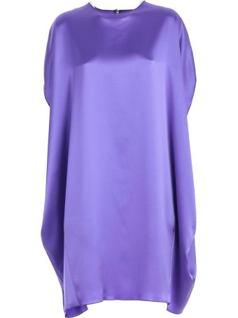 Gianluca Capannolo Round Neck Dress