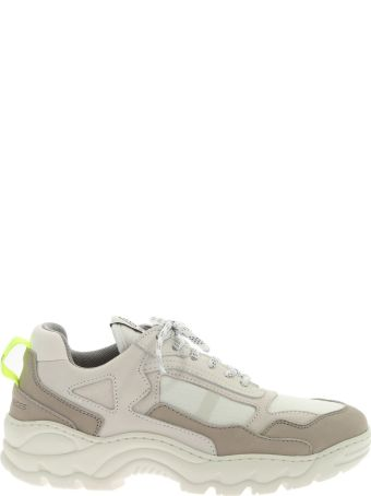 Filling Pieces Sneaker Leather Low Curve Iceman