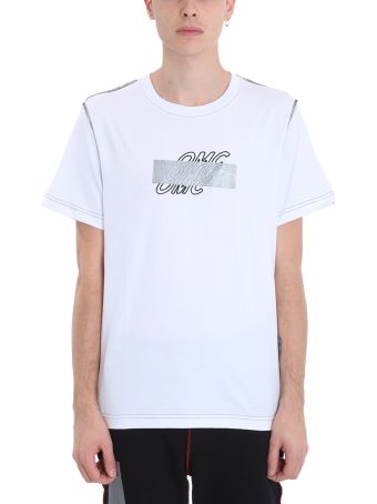 OMC White Cotton T-shirt