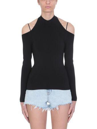 Alexander Wang Black Viscose Sweater