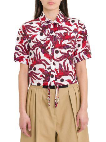 Kenzo Flying Phoenix Bowliing Shirt