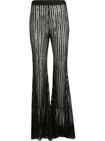 Amen Lace Frayed Trousers